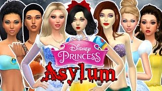 Let's Play the Sims 4: Disney Princess Asylum Challenge Episode 5