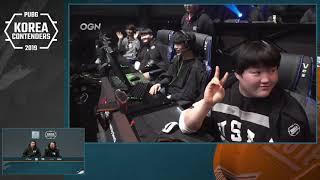 PUBG Korea Contenders Day 10
