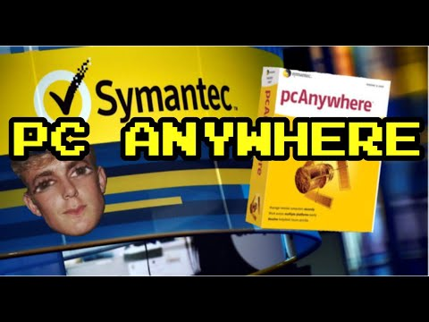 4K SYMANTEC PC ANYWHERE VINTAGE SOFTWARE UNBOXING