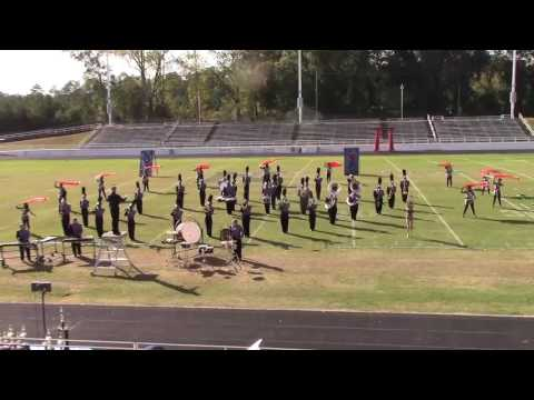 Monroe Area High School Marching Band show 2016