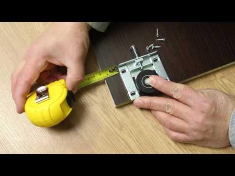 видео: Система для раздвижных дверей шкафов и низких застроек интерьеров ares3  Монтаж