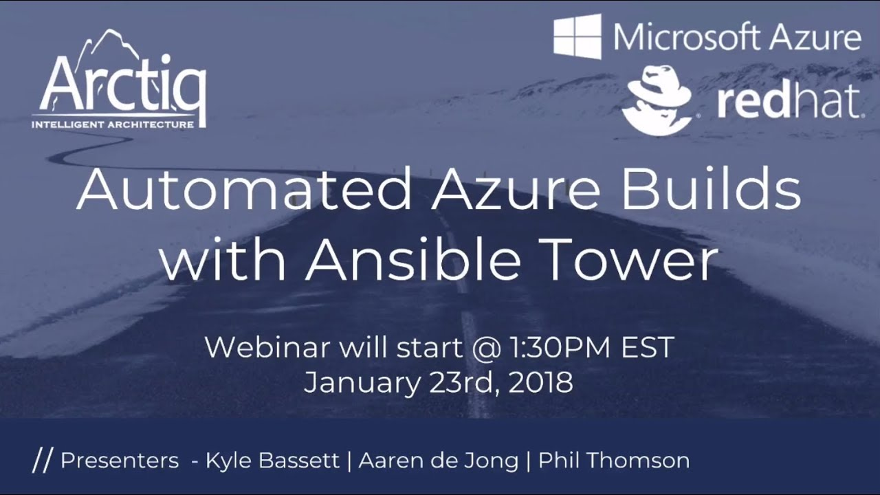 Automate Azure builds with Ansible Tower | Arctiq Inc