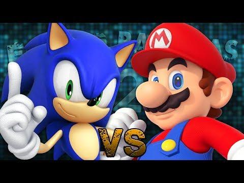 Mario Vs Sonic 2. Épicas Batallas De Rap Del Frikismo T2 | Keyblade Ft. Varios [Prod. Vau Boy]