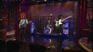 The Whigs on David Letterman - Kill Me Carolyne YouTube Videos
