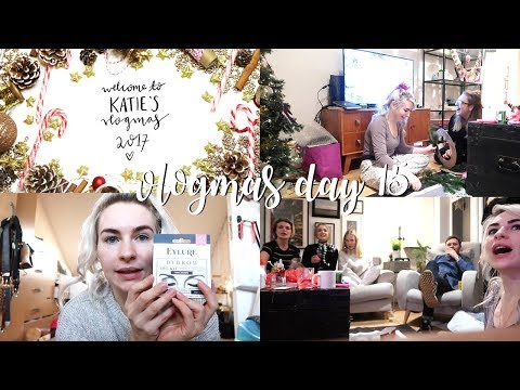CHRISTMAS CRAFTS AND BEST FRIENDS | Vlogmas Day #15