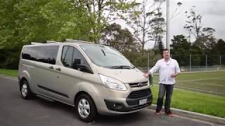 2018 Ford Tourneo Custom - Video Road Report