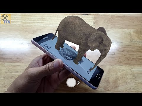 How to use Animal 4D application to view virtual reality photos