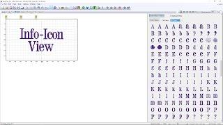 خياطة ما Pro التعليمي - معلومات-عرض أيقونة إضافة الخطوط إلى SWP
