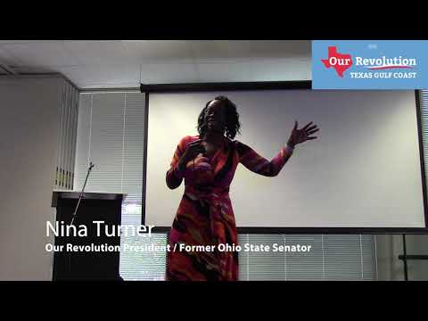 Nina Turner's gripping speech at Our Revolution Texas Gulf Coast