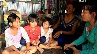 Quà của chú Hai giúp gia đình Trúc Lan trang trãi cuộc sống và 3 bé có tiền đi học