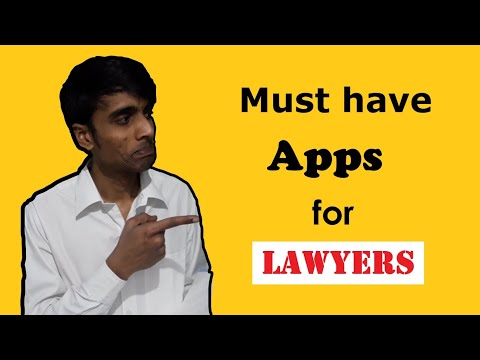 Must have Apps for Lawyers