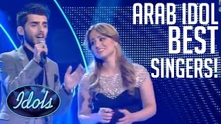Gambar cover Arab Idol BEST Singers! | Idols Global