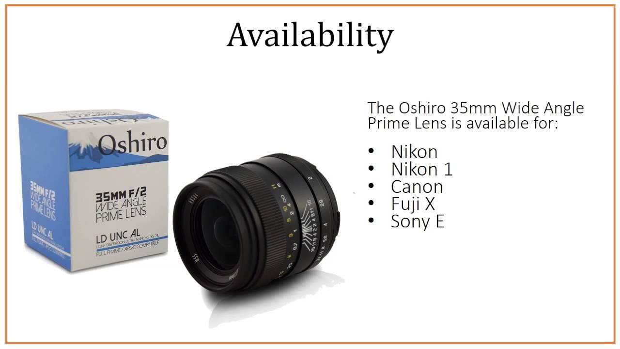 Oshiro 35mm Wide Angle Full Frame Prime Lens-Lens reviews online ...