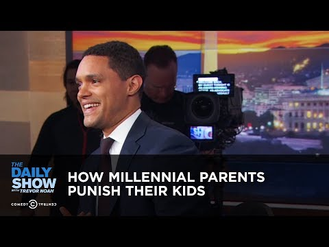 How Millennial Parents Punish Their Kids - Between the Scenes | The Daily Show