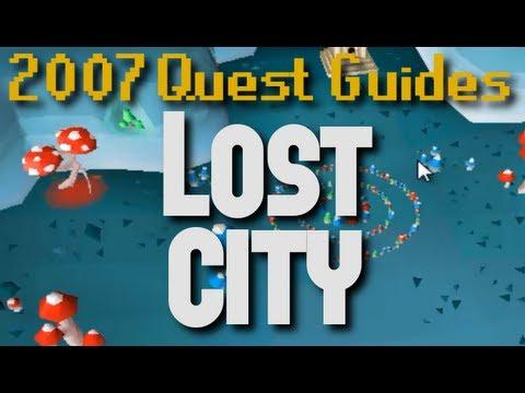 Runescape 2007 Quest Guides: Lost City