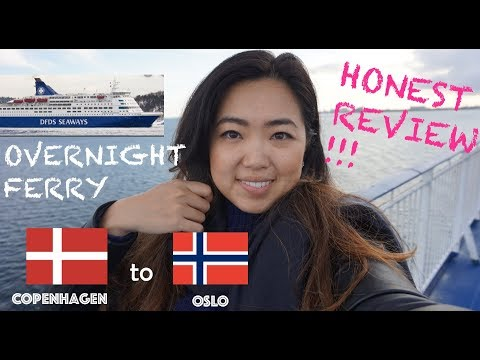 My experience taking the DFDS ferry - Copenhagen to Oslo  - a REALLY honest review (love/hate)