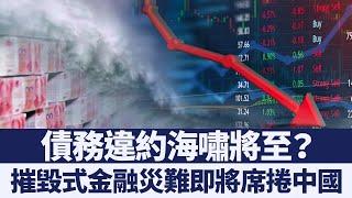 陸企債務違約飆歷史新高 中共無力也無能阻擋金融風暴|新唐人亞太電視|20191221