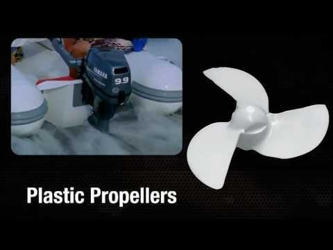 Plastic Yamaha Propellers