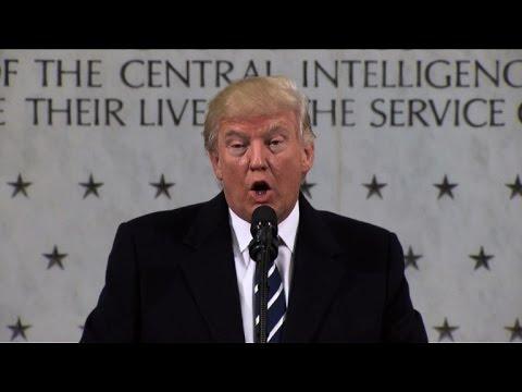 Donald Trump assure la CIA de son soutien