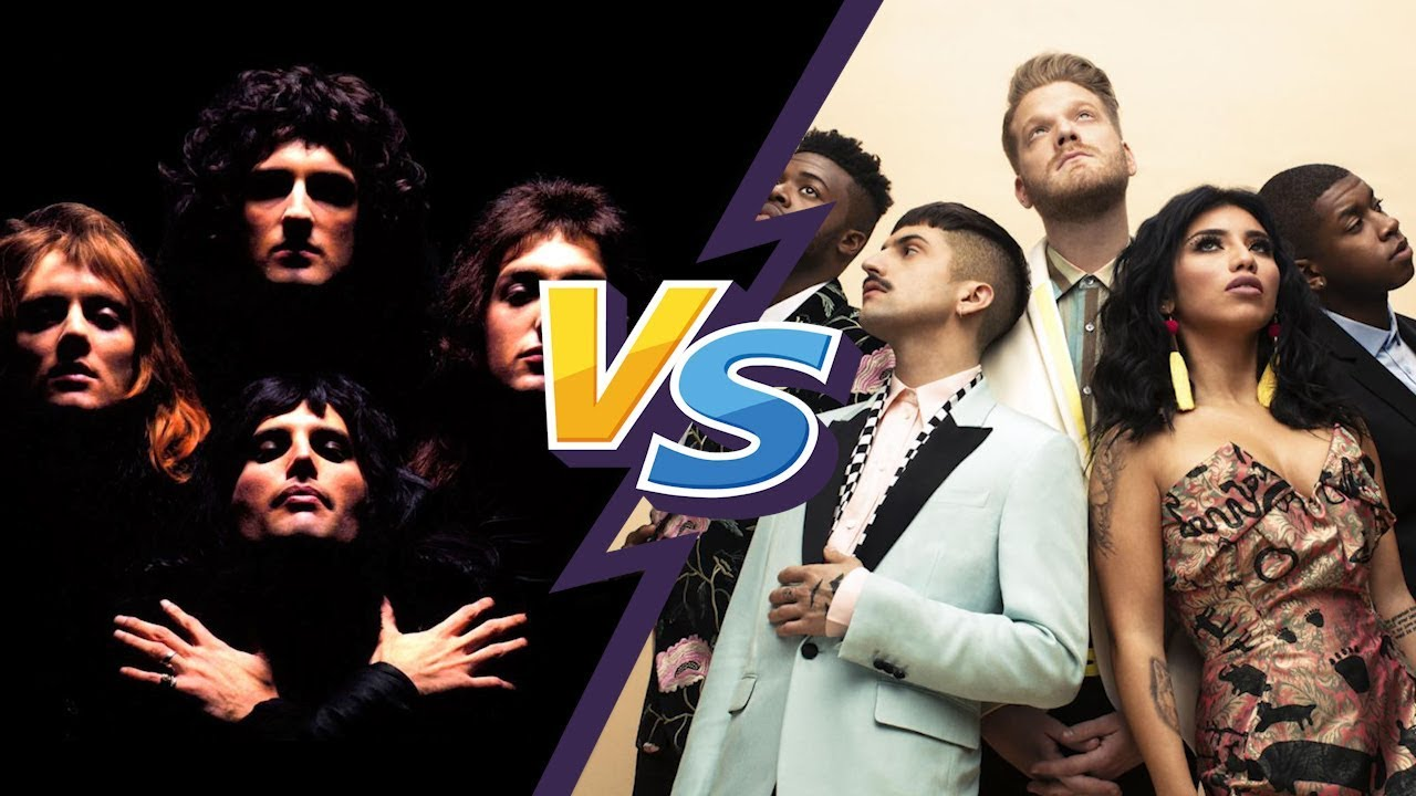Queen Vs Pentatonix - Bohemian Rhapsody
