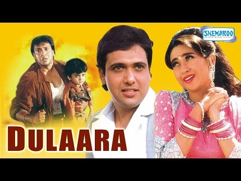 Dulaara (HD) - Hindi Full Movie - Govinda, Karisma Kapoor - Bollywood Movie - (With Eng Subtitles)