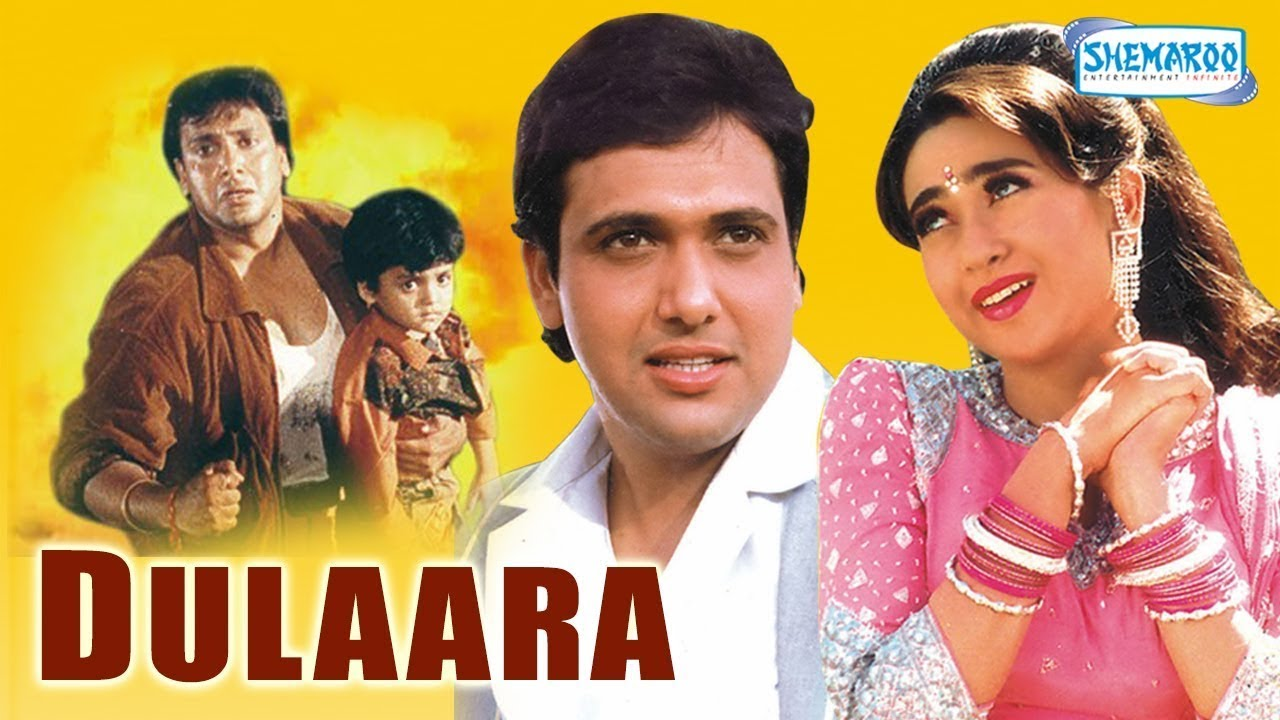 Dulaara (HD) – Hindi Full Movie – Govinda, Ka…