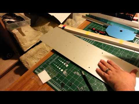 Tamiya flatbed trailer build part 1