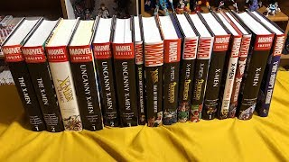 A comprehensive look at the reading order of X-men in OHC and Omnibus Format