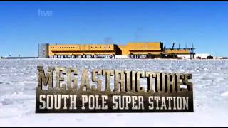 National Geographic Documentary - Mega Structures South Pole Station National Geographic part 2