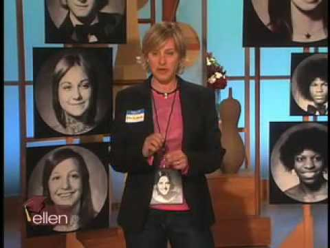 Ellen hosts her 30-year high school reunion