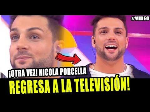 NICOLA PORCELLA REGRESA A LA TELEVISIÓN Y LO ANUNCIA A TRAVÉS DE INSTAGRAM