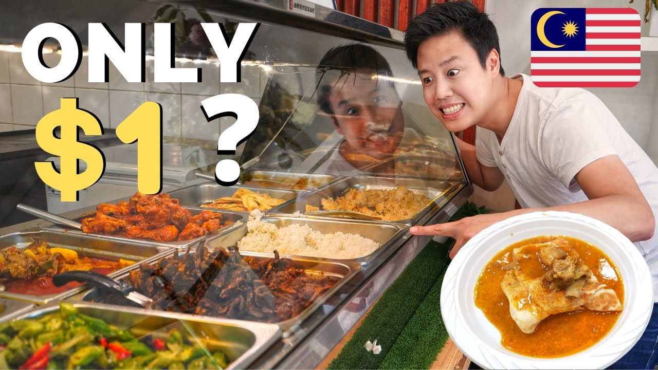 Cheapest Buffet In Sydney All You Can Eat Halal Malaysian Food In Australia Youtube