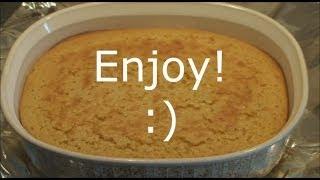 Easy Corn Pudding (corn Bread Pudding)