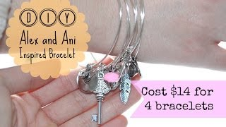 DIY Alex and Ani Inspired Bracelet Thumbnail