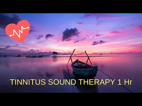 TINNITUS SOUND THERAPY 1 Hr, PINK NOISE