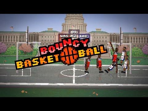 Bouncy Basketball (Trailer #3 iOS/Android)