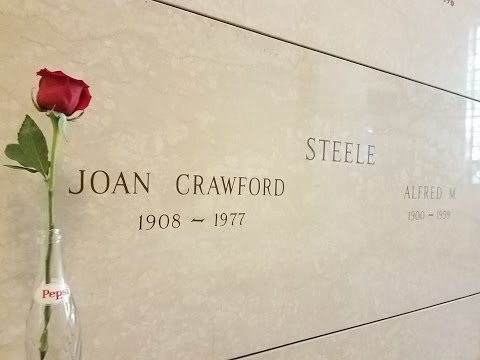Tour of Joan Crawford's Mausoleum | Hartsdale, New York