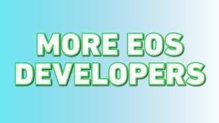Morpheus Labs + Cypherglass = More EOS Developers!