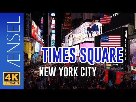 Times Square - New York in 4K