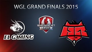 World of Tanks - EL Gaming vs. Hellraisers - WGL Grand Finals 2015 - Grand Final