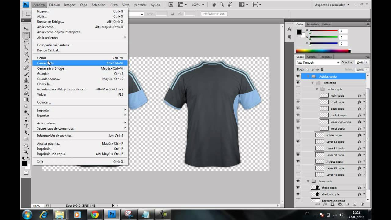 Fantástico Plantilla De Diseño De Camisa Photoshop Embellecimiento ...