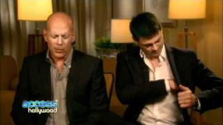 Bruce & Karl Talk Red to_AccessHollywood 2010