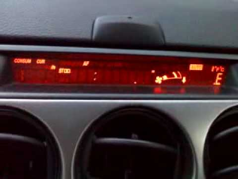 Mazda6 Lcd Radio Information Display Haywire Youtube