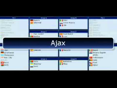 [HQ] UEFA Champions League Group Stage Draw 2011-2012