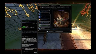 Neverwinter Mod 15 - Castle Never 10 Runs Rerolls Orcus Shard Chase Test Unforgiven GWF (1080p)
