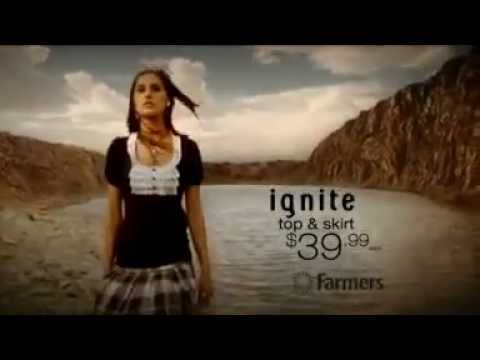 Nargis Fakhri in TV Commercial for Farmers Department Stores