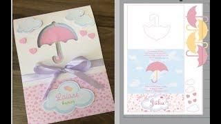Convite de chuva de amor