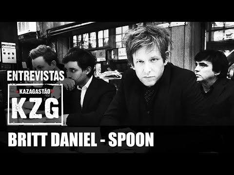 BRITT DANIEL (SPOON) em Kaza! - entrevistado por Gastão Moreira