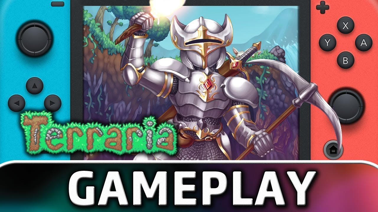 Terraria   First 10 Minutes on Nintendo Switch