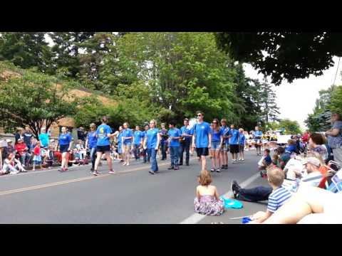 Bainbridge High School Band at Bainbridge Island Grand Old Fourth of July Parade